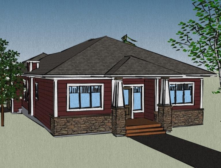14 surprisingly house plans with attached garage for Online garage designer