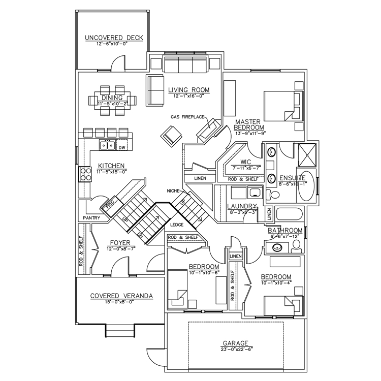 Bi Level House Plans Split Level House Plans Tri Level